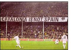 cataloniaisnotspain - Los independentistas acaban con la fiesta del fútbol
