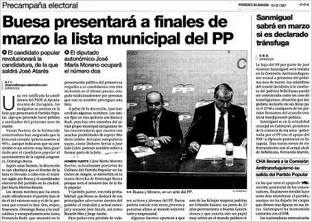 "epda 070219 - EPdA: ""Buesa presentará a finales de marzo la lista municipal del PP"""