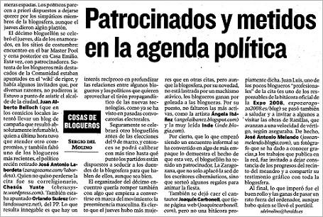 """hda 080217 - HdA: """"Patrocinados y metidos en la agenda política"""""""