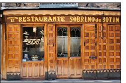 restaurante botin 002 - Historia aragonesa paseando por la capital de España