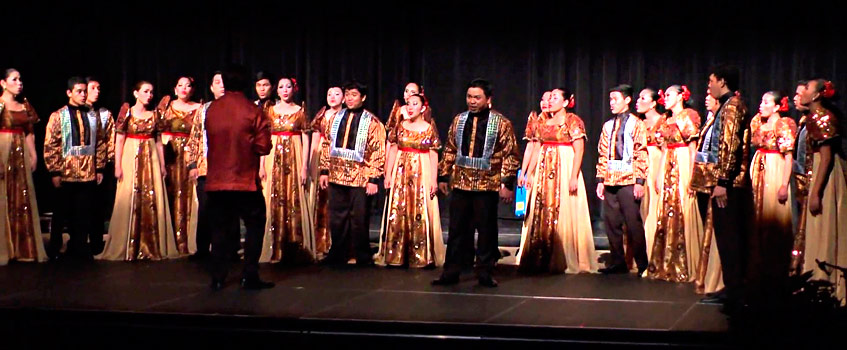"UST Singers - ""Nostalgia Filipina"" en la Expo Zaragoza 2008"