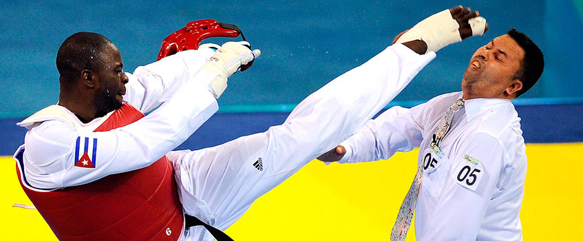 cubano matos taekwondo - Deshonrando el Espíritu Olímpico en Pekín 2008