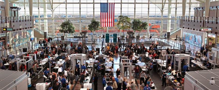 aeropuerto estados unidos - Inocentes sin 'copyright' en Estados Unidos de América