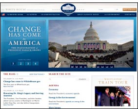 whitehouseorg - Obama lleva el cambio al portal Whitehouse.org