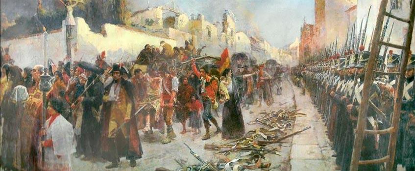 capitulacion zaragoza - La capitulación de Zaragoza cumple hoy dos siglos