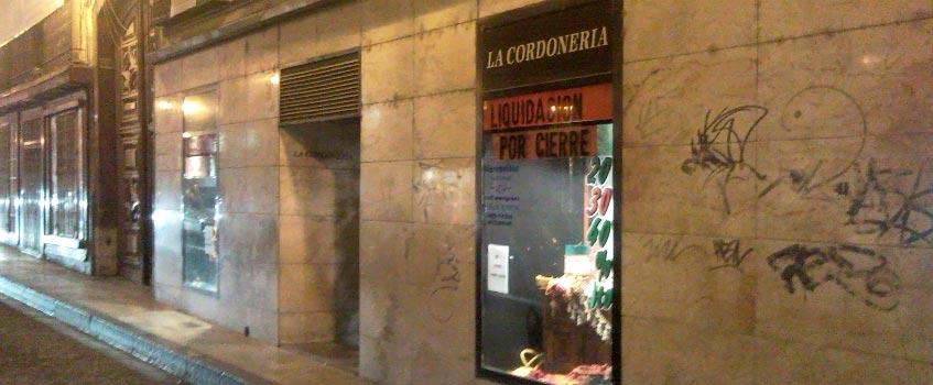 cordoneria zaragoza - La Cordonería: clausurando 120 años de historia