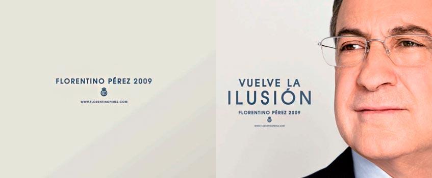"florentino perez 2009 - Vuelve Florentino, ""vuelte la ilusión"" al madridismo"