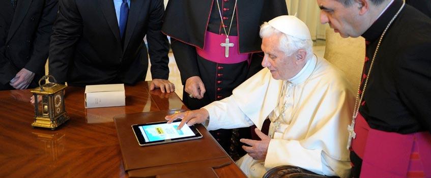 iglesia tecnologia - Hasta el Vaticano ve las ventajas de las TIC...