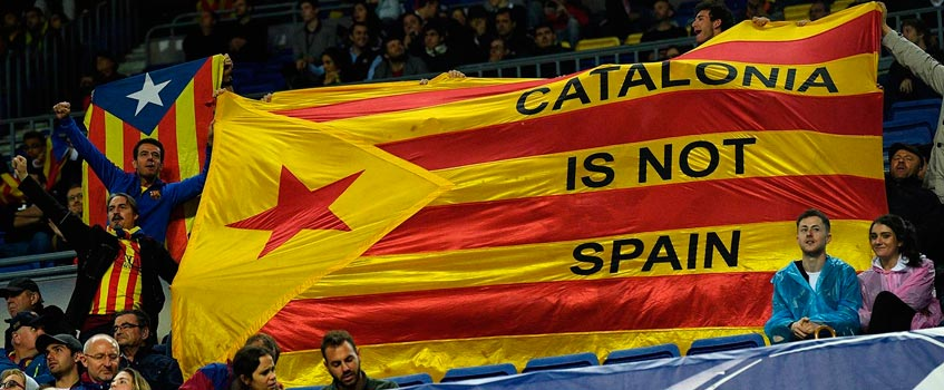 catalonia is not spain - Los independentistas acaban con la fiesta del fútbol