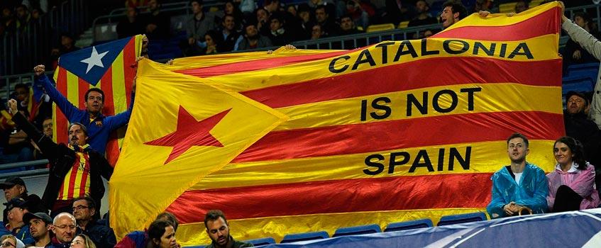 catalonia is not spain - Los independentistas acaban con la fiesta del fútbol