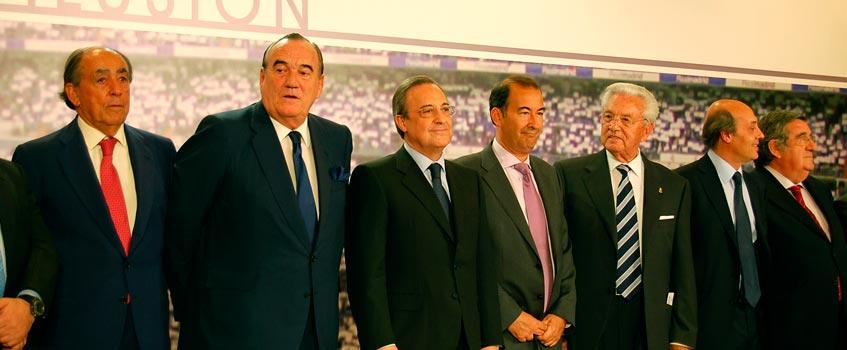junta directiva real madrid - El 'Código Ético' del Madrid de Florentino Pérez