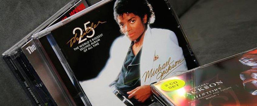 discos michael jackson - Michael Jackson upera en ventas a Elvis Presley y John Lennon