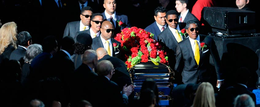 funeral michael jackson - La emotiva y memorable despedida al 'Rey del Pop'