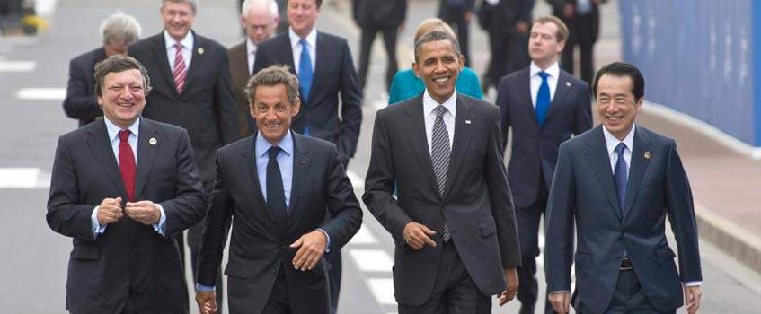 lideres G8 - La humanidad está en manos de ocho líderes 'pasotas'