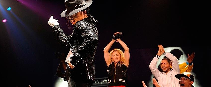michael jackson madonna - Madonna homenajea a Michael Jackson en el Arena O2