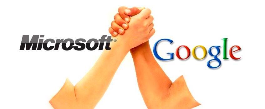 microsoft google - Google vs Microsoft: Los 'imperios tecnológicos' se contraatacan...