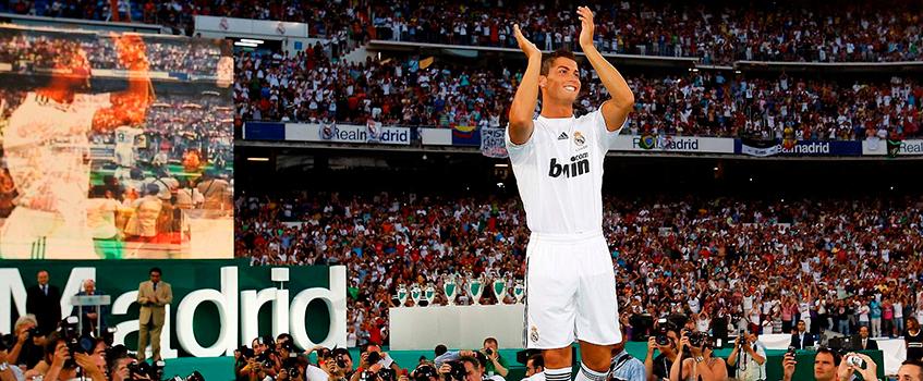 presentacion cristiano ronaldo - Cristiano Ronaldo llegó, vio y convenció a... ¡90.000 madridistas!