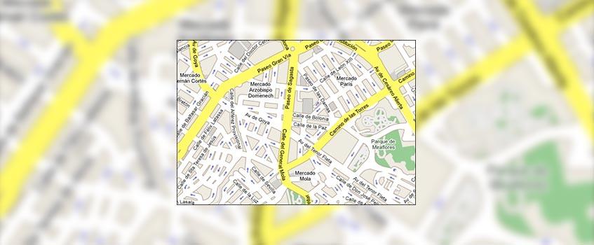 google maps general mola - General Mola: La calle que dilató la 'brecha digital' en Zaragoza