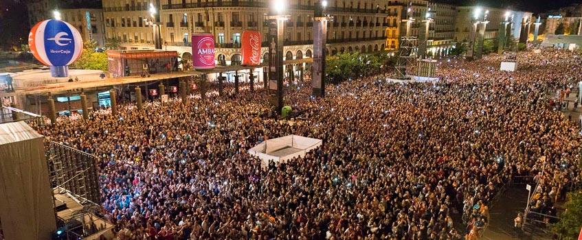 pregon fiestas pilar zaragoza - Pilar 2009: Zaragoza se vuelca con sus fiestas patronales