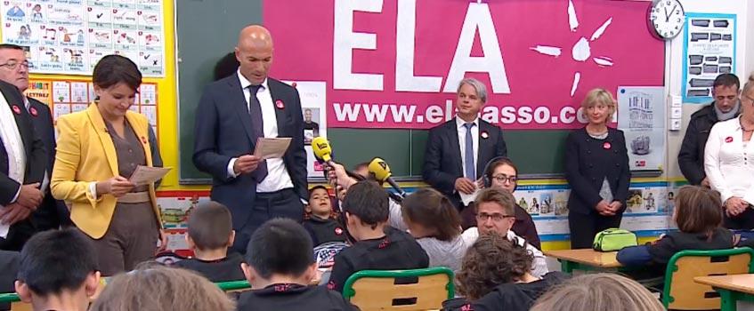 zidane ela 1 - Zinedine Zidane: Juntos, salvemos a los niños enfermos de ELA