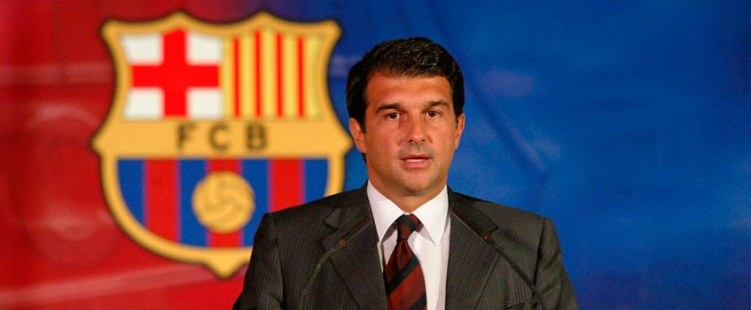 joan laporta - Joan Laporta: ¿Y la dignidad del Fútbol Club Barcelona?