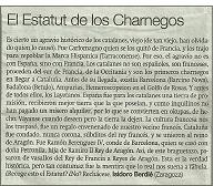 estatut charnegos - ¿De dónde proceden los ciudadanos de Cataluña?