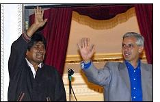 evo morales 2009 - El MAS de Evo Morales arrasa (60%) en las elecciones de Bolivia