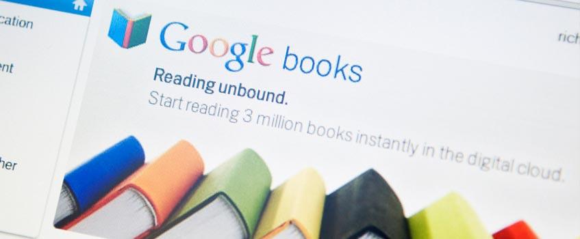 google books 1 - Google es condenado por reproducir fragmentos de libros