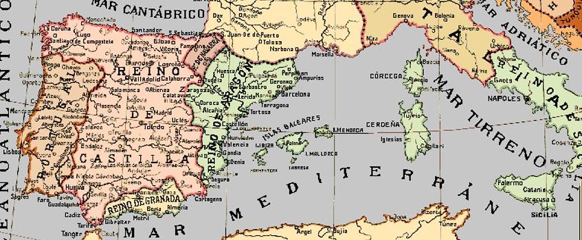 mapa corona aragon - ¿De dónde proceden los ciudadanos de Cataluña?