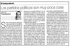 art trasobares 122009 - Partidos políticos: Su ideología, y cada día la de menos gente…
