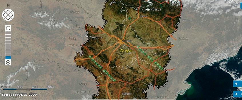 atlas geotematico aragon - Aragón presenta el primer Atlas Geotemático de España