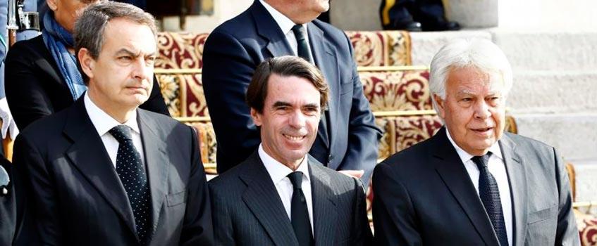 presidentes gobierno - Partidos políticos: Su ideología, y cada día la de menos gente…