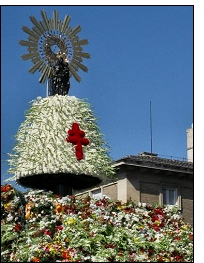 virgen pilar - Mi obsequio a todas las 'Pilares' en este especial día del Pilar 2011