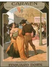 carmen bizet 1922 - Recordando el exitoso estreno de Miguel Fleta en el Teatro Real