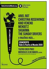 dvam concert - Intermón Oxfam: ¡¡Reacciona!! Dale la vuelta al mundo... 2010