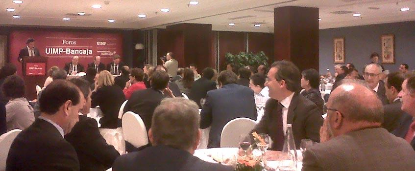 coloquio ministro educacion - El ministro y la historia como 'vértebra determinante' de España