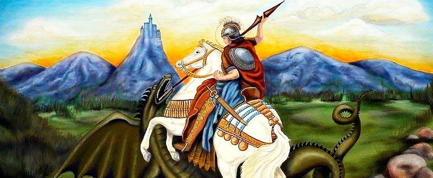 jorge capadocia - Jorge de Capadocia: ¡Feliz día de San Jorge! ¡Feliz día de Aragón!