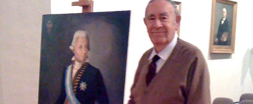 oneille rocamora - Sesión pública de la Real Academia de San Luis en honor a su primer Presidente