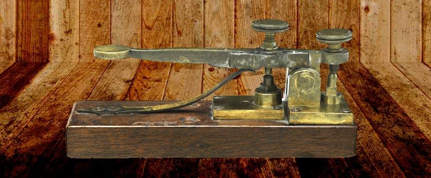 telegrafo 1 - El telégrafo comenzó a funcionar en Aragón hace 156 años