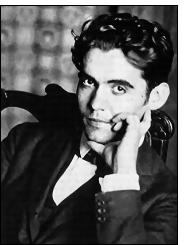 garcia lorca - Federico García Lorca: 74 años del asesinato al ilustre poeta español