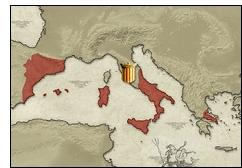 aragon mediterraneo - La expansión marítima y el Tratado de Canfranc en la Corona