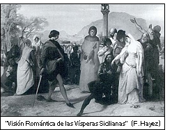 visperas sicilianas - La expansión marítima y el Tratado de Canfranc en la Corona