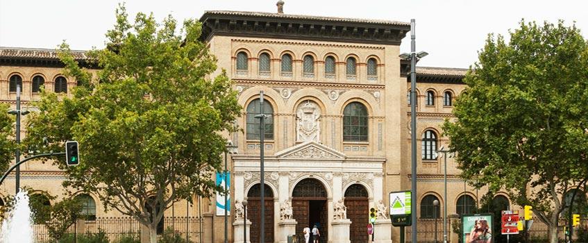 paraninfo zaragoza - La Real Academia de San Luis homenajea a Ricardo Magdalena