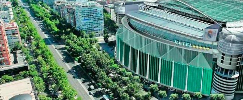 hotel bernabeu 2010 - Bienvenidos al hotel 'Bernabéu' cinco estrellas del Real Madrid
