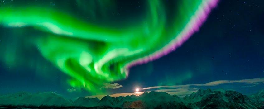 auroras boreales - Astrofísica: Exponen en la Red auroras boreales en directo