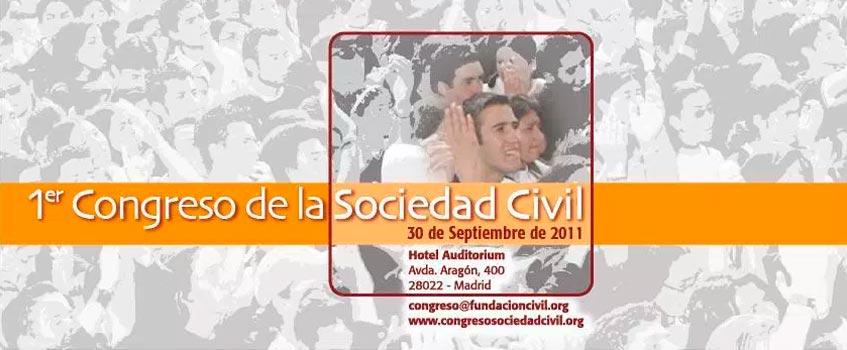 i congreso sociedad civil - I Congreso de la Sociedad Civil en Madrid por la democracia