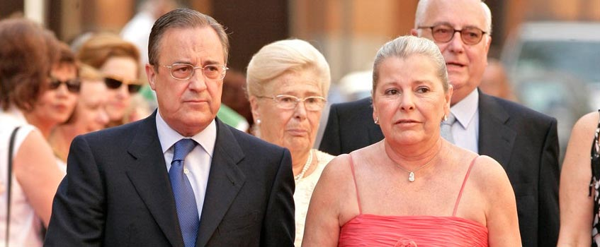 "florentino pitina - Florentino Pérez ""ve peligrar el futuro del Real Madrid"""