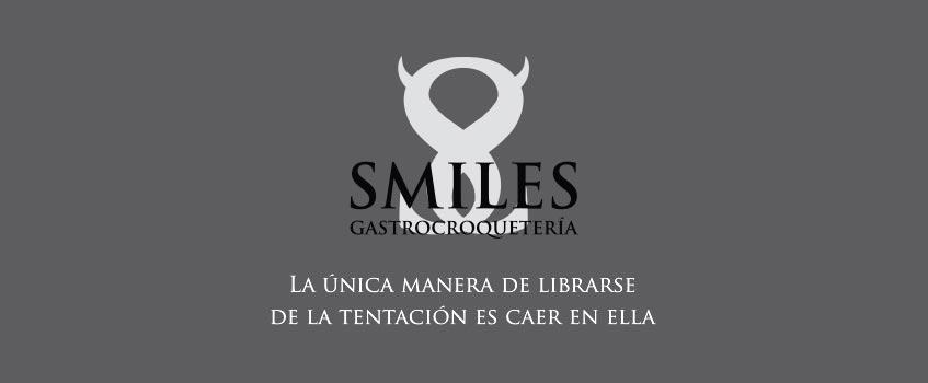 logo smiles 2017 - Nuevo logotipo y tríptico para el restaurante zaragozano Smiles