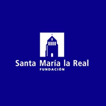 logo sta maria real - Fundación Santa María la Real